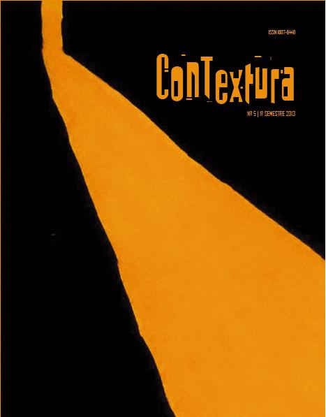 Visualizar v. 5 n. 5 (2013): Revista Contextura