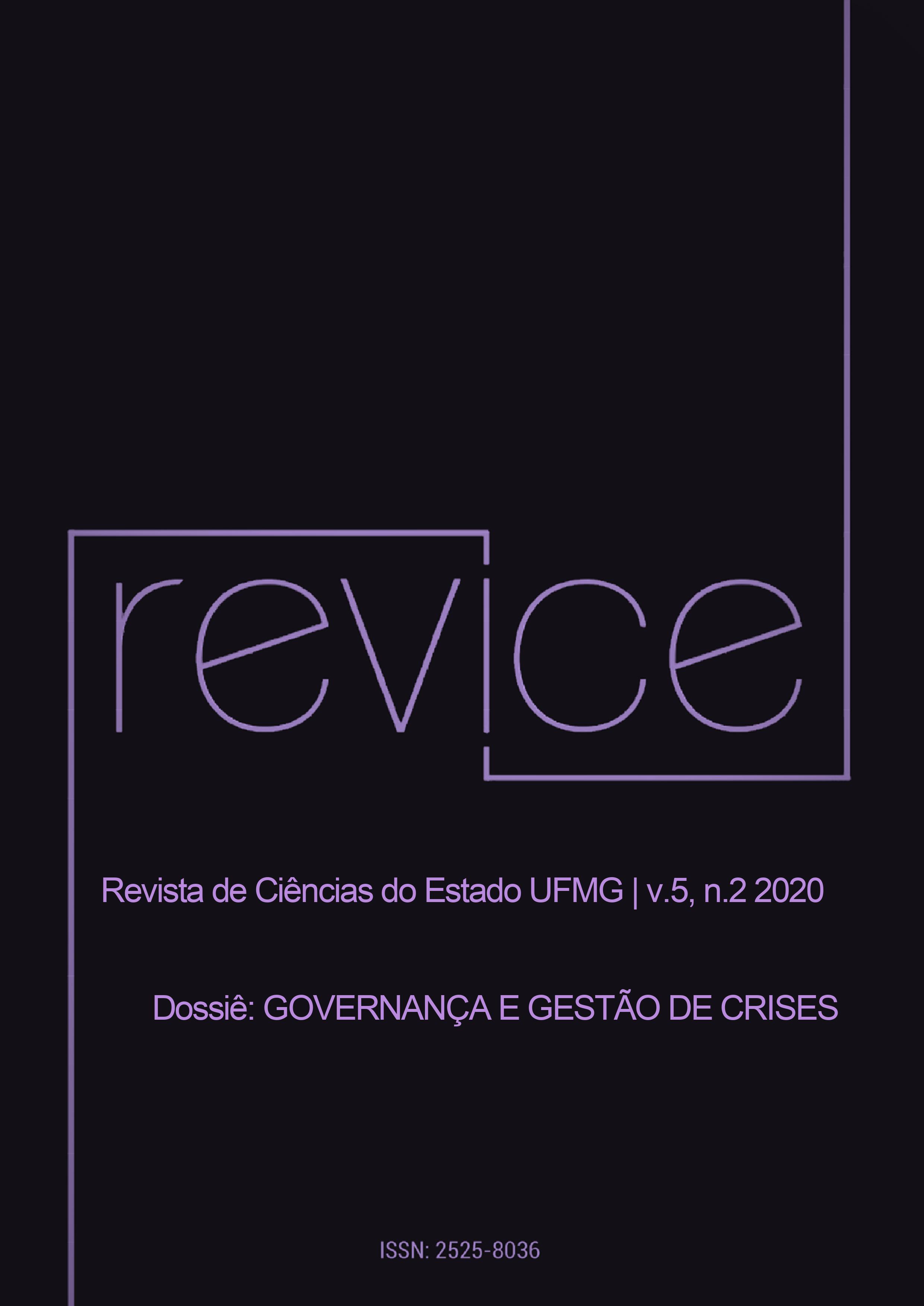 Visualizar v. 5 n. 2 (2020): Governança e Gestão de Crises