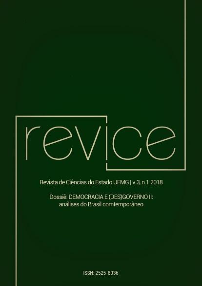 Visualizar v. 3 n. 1 (2018): Democracia e (des)governo II: análises do Brasil contemporâneo