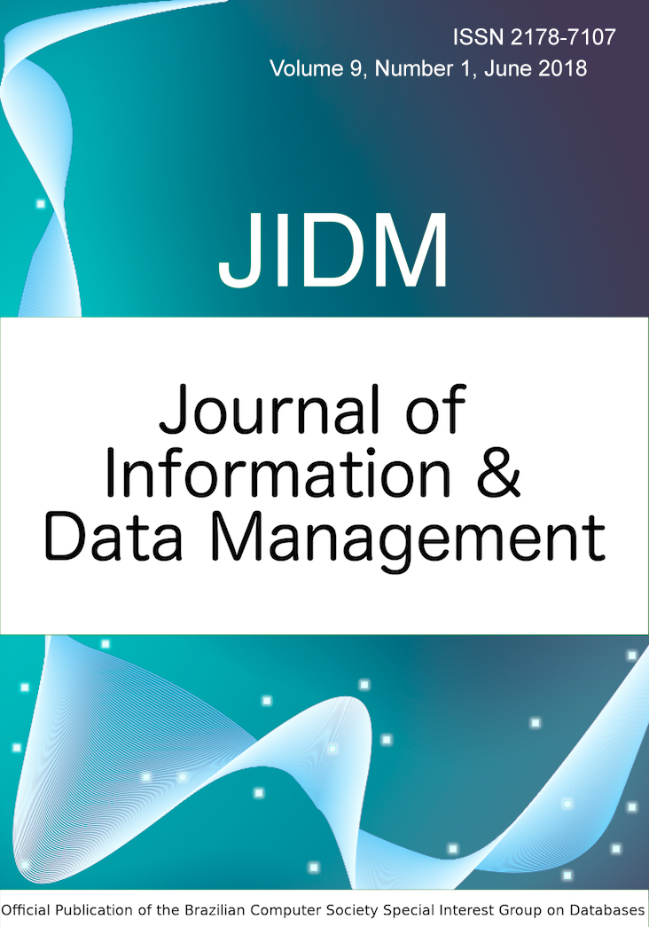 View Vol. 9 No. 1 (2018): JOURNAL OF INFORMATION AND DATA MANAGEMENT