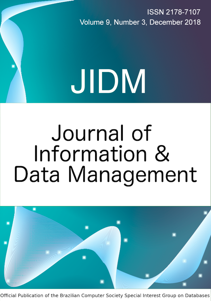 View Vol. 9 No. 3 (2018): JOURNAL OF INFORMATION AND DATA MANAGEMENT
