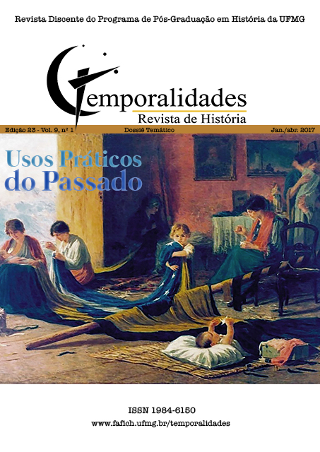 Visualizar v. 9 n. 1 (2017): Edição 23 - Temporalidades, Belo Horizonte, Vol. 9, n.1 (jan./abr. 2017)