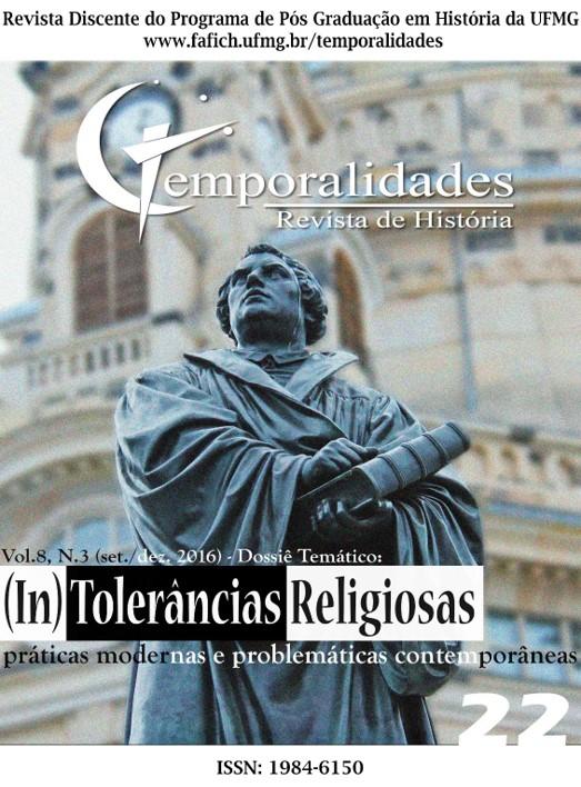 Visualizar v. 8 n. 3 (2016): Edição 22 - Temporalidades, Belo Horizonte, Vol. 8, n.3 (set./dez. 2016)
