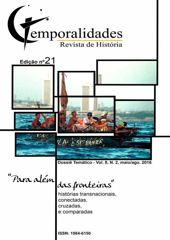 Visualizar v. 8 n. 2 (2016): Edição 21 - Temporalidades, Belo Horizonte, Vol. 8, n.2 (mai./ago. 2016)
