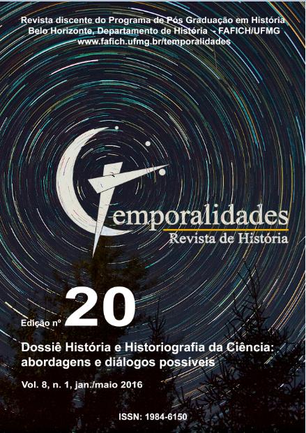 Visualizar v. 8 n. 1 (2016): Edição 20 - Temporalidades, Belo Horizonte, Vol. 8, n.1 (jan./abr. 2016)