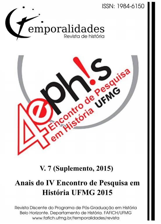Visualizar v. 7 (2015): Edição 19 - Temporalidades, Belo Horizonte, v. 7 (Suplemento, 2015)