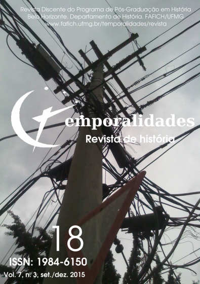 Visualizar v. 7 n. 3 (2015): Edição 18 - Temporalidades, Belo Horizonte, Vol. 7, n.3 (set./dez. 2015)