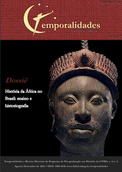 Visualizar v. 4 n. 2 (2012): Edição 08 - Temporalidades, Belo Horizonte, Vol. 4, n. 2 (Ago./Dez. 2012)