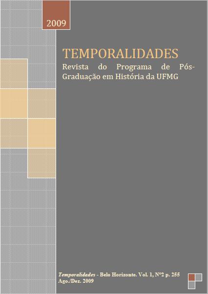 Edição 02 da Revista Temporalidades, Setembro de 2009