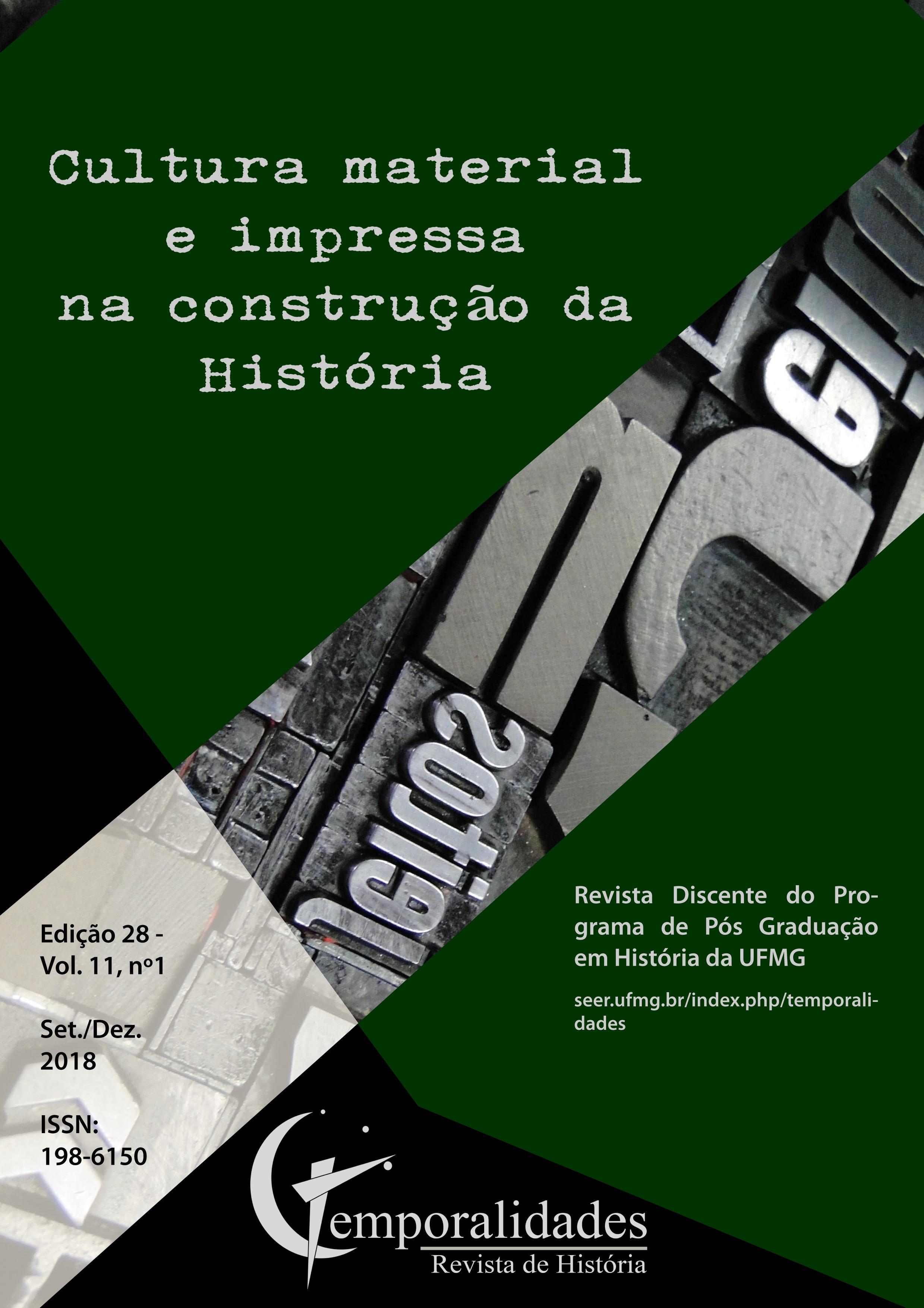 Visualizar v. 10 n. 3 (2018): Edição 28 - Temporalidades, Belo Horizonte, Vol. 10, n.3 (set./dez. 2018)