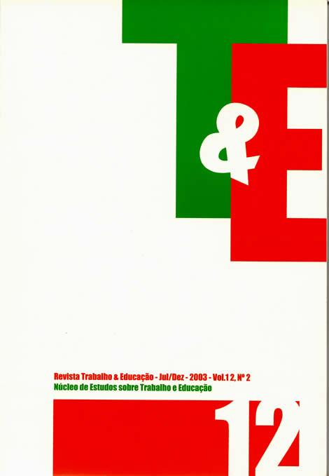 Visualizar v. 12 n. 2 (2003)
