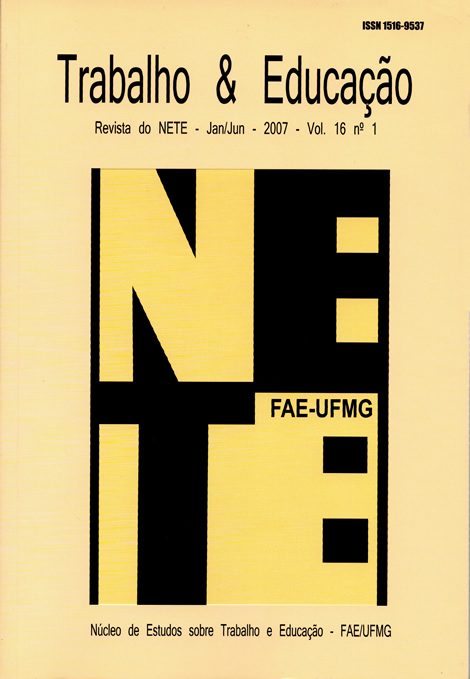 Visualizar v. 16 n. 1 (2007)
