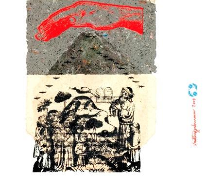 """Detalhe de """"Sião"""", de Vlad Eugen Poenaru."""