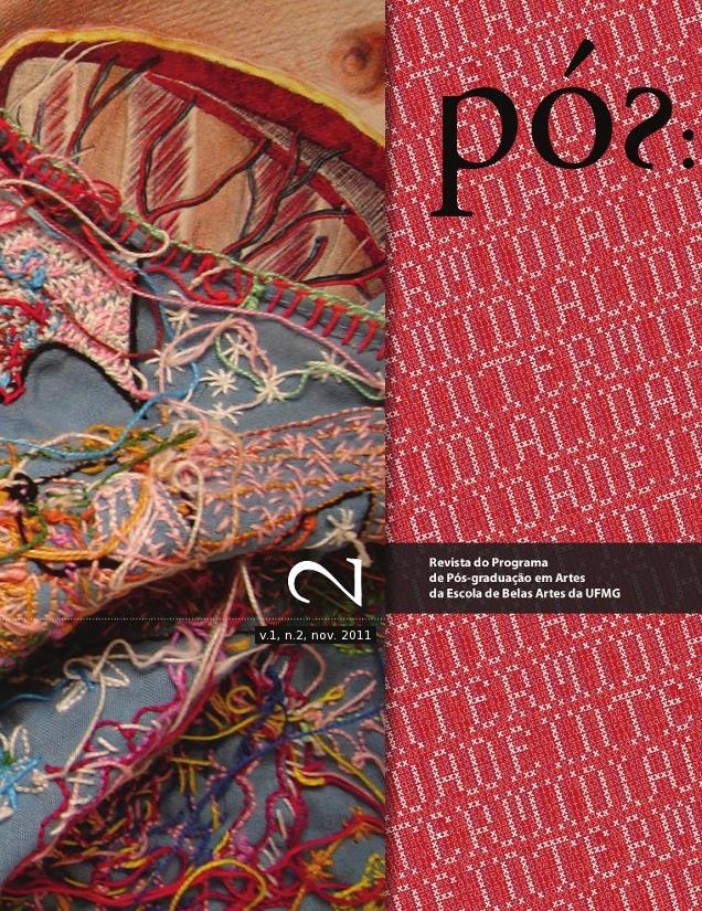 Capa - Volume 1, número 2. Novembro de 2011