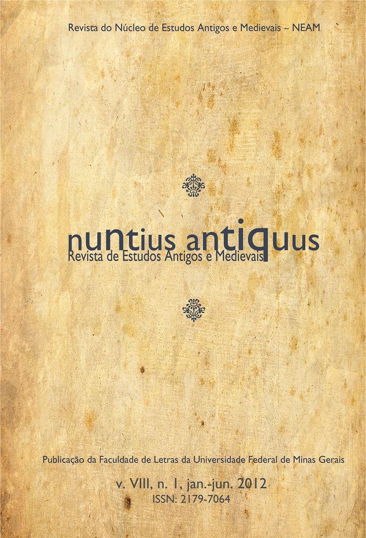 Visualizar v. 8 n. 1 (2012): Nuntius Antiquus