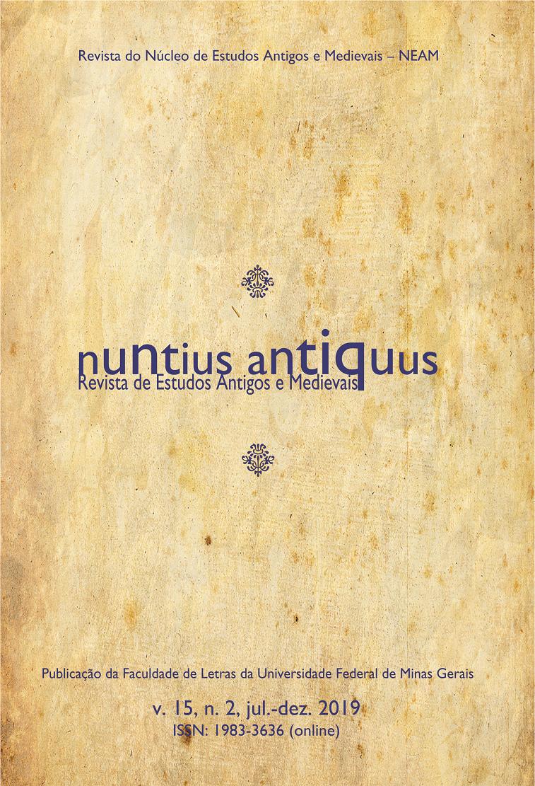 Visualizar v. 15 n. 2 (2019): Nuntius Antiquus