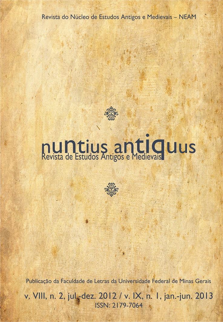 Visualizar v. 8, n. 2 (2012) / v. 9, n. 1 (2013): Nuntius Antiquus