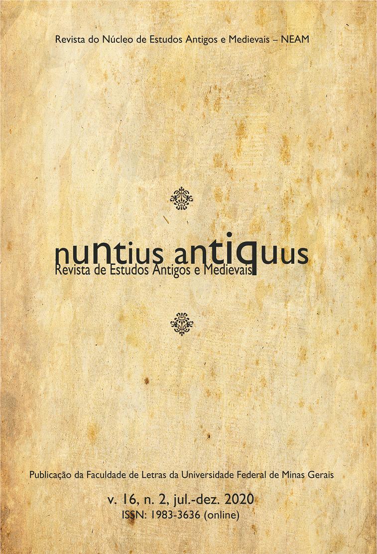 Visualizar v. 16 n. 2 (2020): Nuntius Antiquus