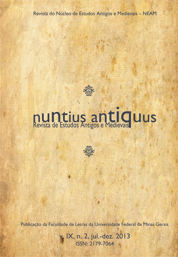 Visualizar v. 9 n. 2 (2013): Nuntius Antiquus