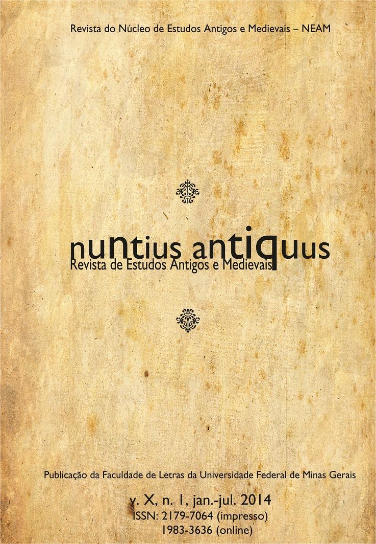 Visualizar v. 10 n. 1 (2014): Nuntius Antiquus