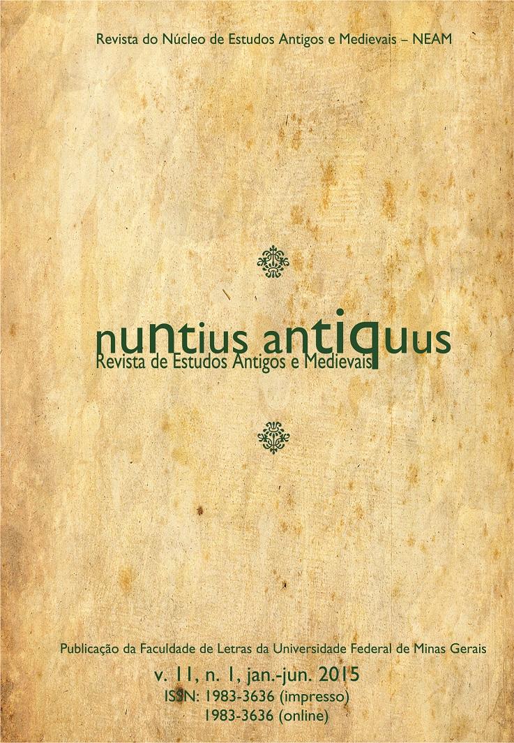 Visualizar v. 11 n. 1 (2015): Nuntius Antiquus