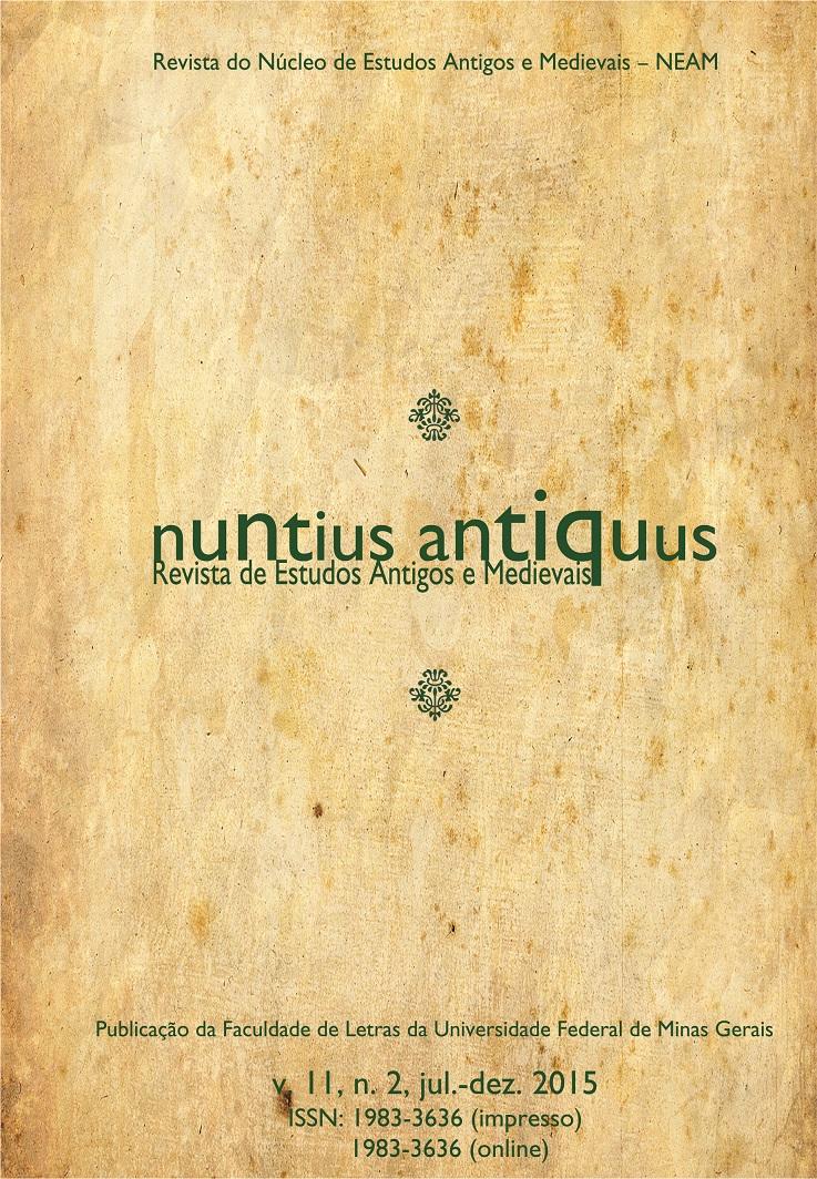 Visualizar v. 11 n. 2 (2015): Nuntius Antiquus