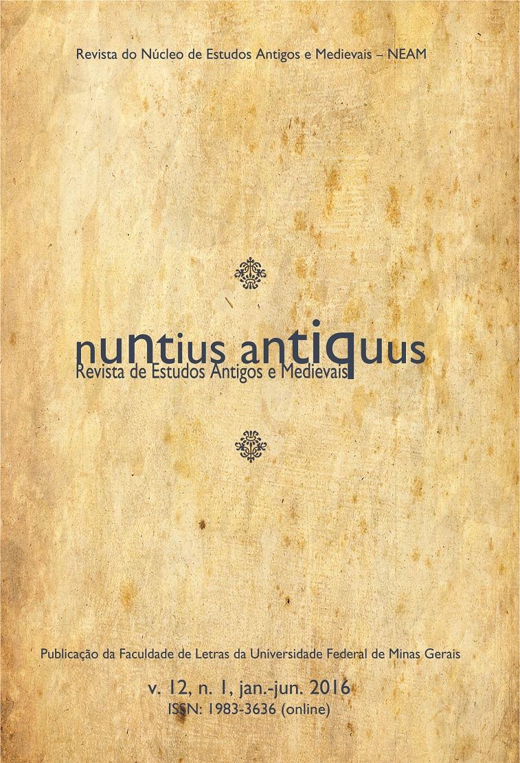 Visualizar v. 12 n. 1 (2016): Nuntius Antiquus