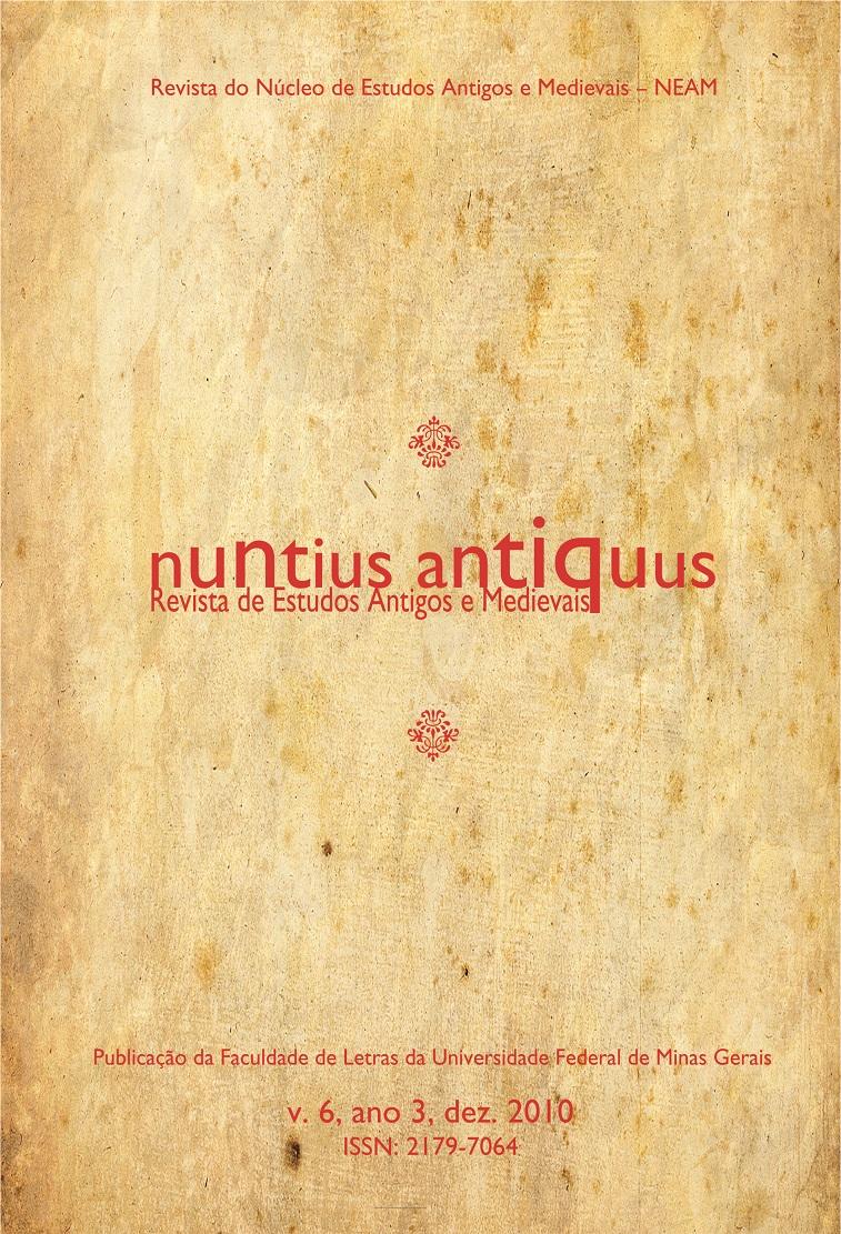 Visualizar v. 6 (2010): Nuntius Antiquus
