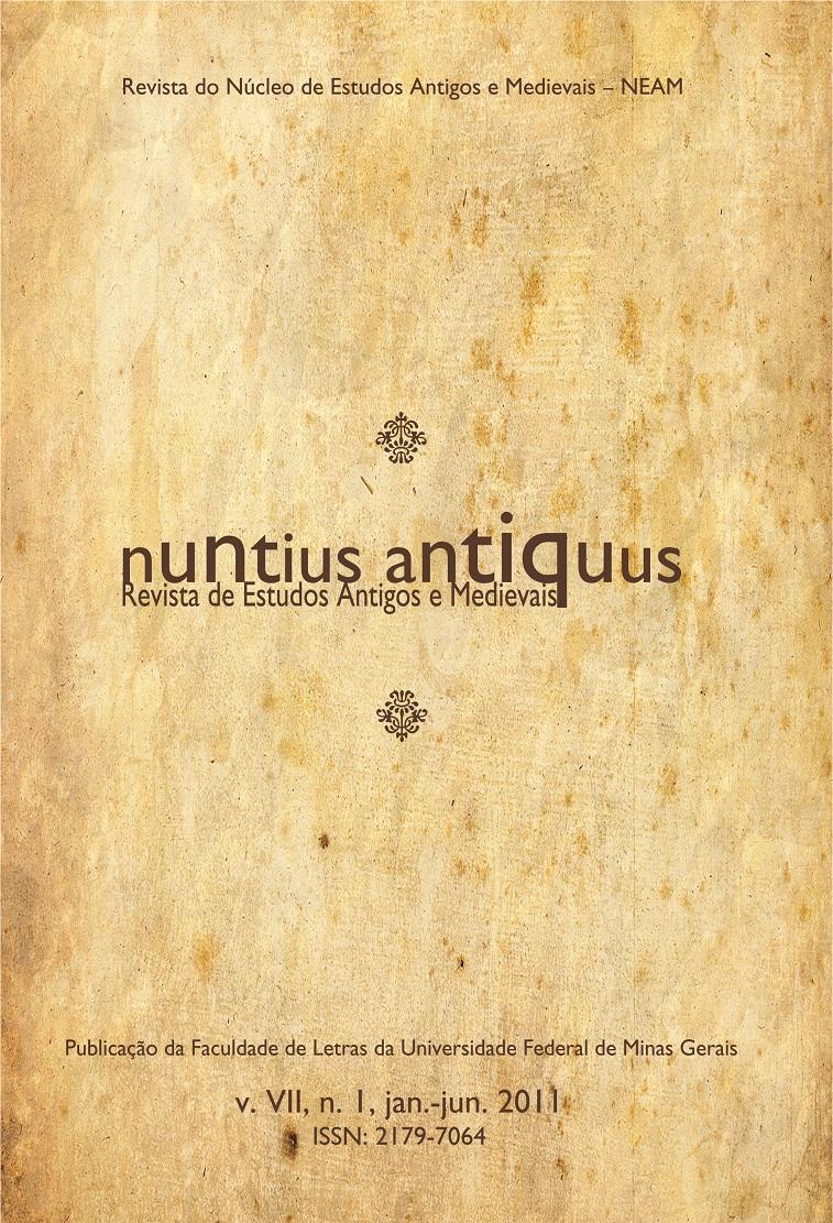 Visualizar v. 7 n. 1 (2011): Nuntius Antiquus