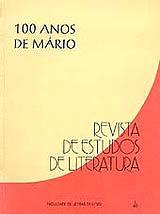 Visualizar v. 1 (1993): Revista de Estudos de Literatura: 100 Anos de Mário de Andrade