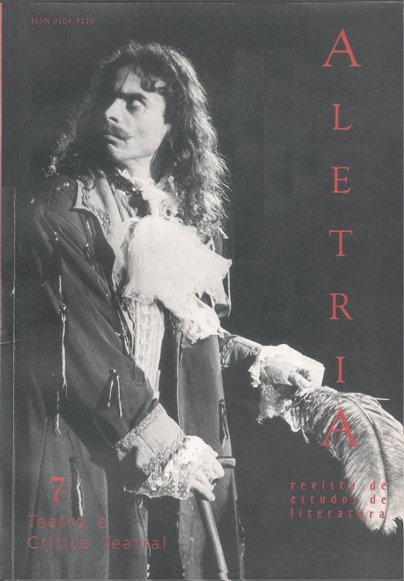 Visualizar v. 7 (2000): Teatro e Crítica Teatral