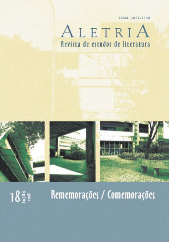 Visualizar v. 18 n. 2 (2008): Rememorações/Comemorações
