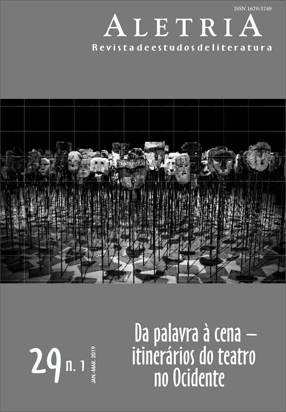 Visualizar v. 29 n. 1 (2019): Da Palavra à Cena: Itinerários do Teatro no Ocidente