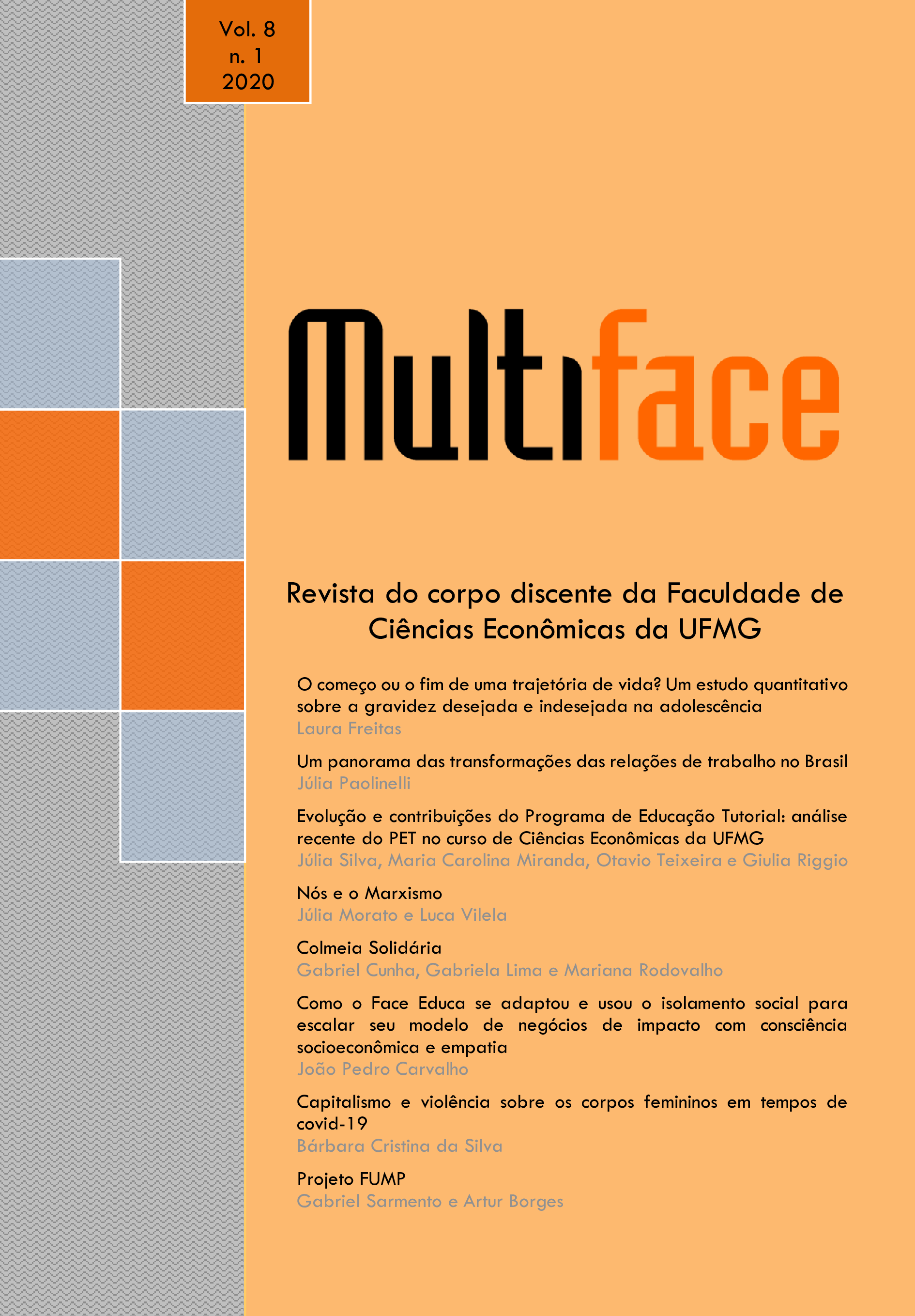 Visualizar v. 8 n. 1 (2020): Revista Multiface